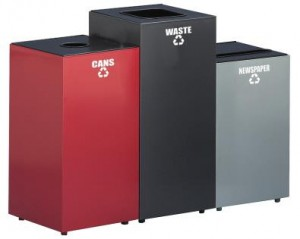 Metal Recycling Containers